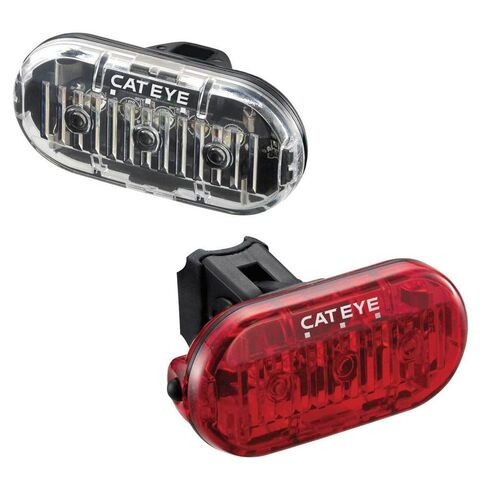 CATEYE Cateye Omni 3 Front & Rear Light Set