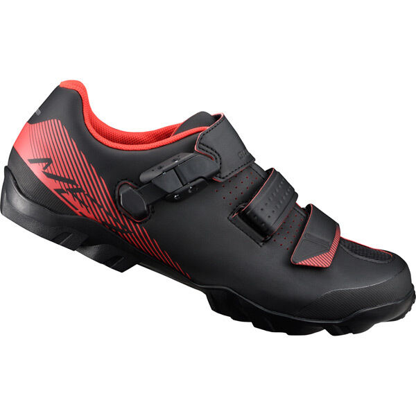 SHIMANO SHOES ME300 SPD MTB shoes, black/orange click to zoom image