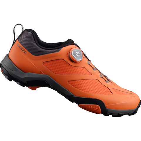 SHIMANO SHOES MT700 SPD MTB shoes, orange