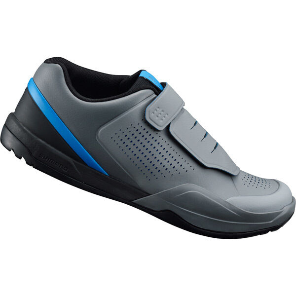 SHIMANO SHOES AM9 (AM901) SPD MTB shoes, grey/blue click to zoom image
