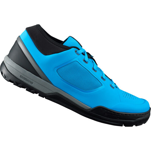 SHIMANO SHOES GR7 (GR700) flat pedal MTB shoes, blue click to zoom image