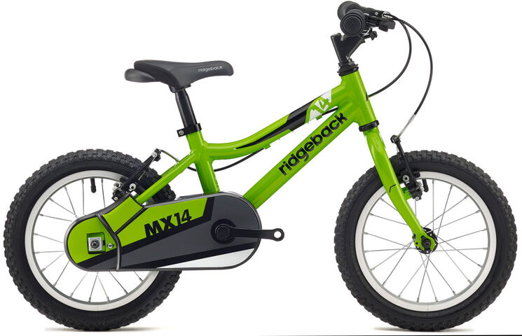 "RIDGEBACK MX14 red 14"" Wheel Green  click to zoom image"