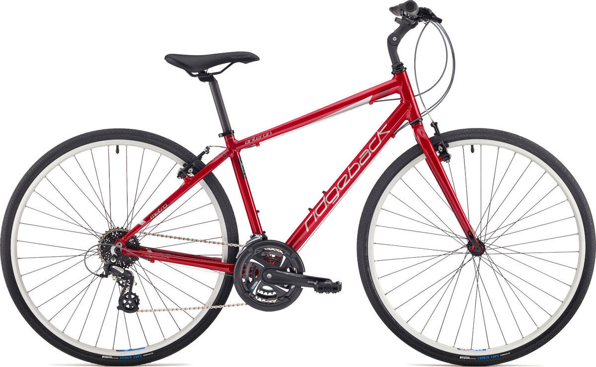 "RIDGEBACK Anteron Ex-Display Hybrid Bike 21"" click to zoom image"