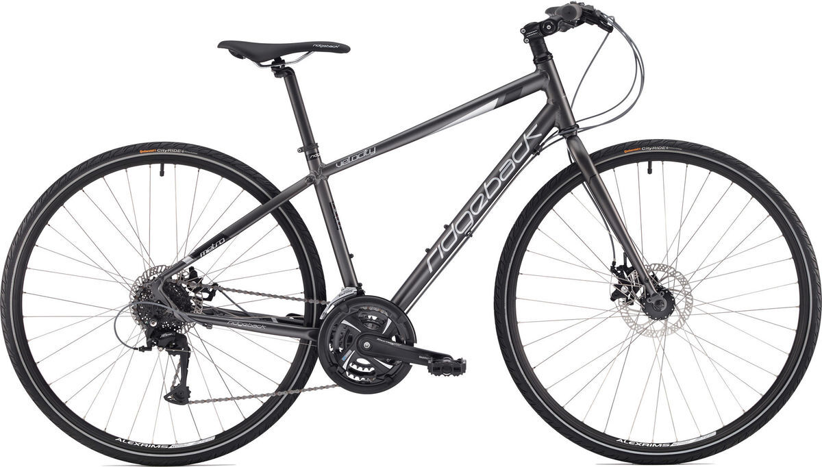 "RIDGEBACK Velocity Ex-Display Hybrid Bike 15"" click to zoom image"