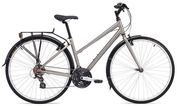 "RIDGEBACK Speed Open Frame Ex-Display Hybrid Bike 17"" Grey"