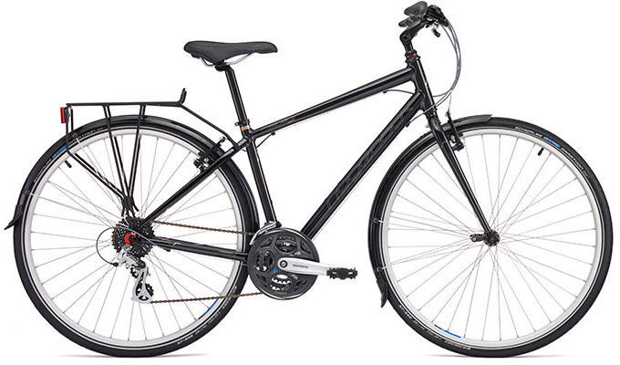"RIDGEBACK Meteor Ex-Display Hybrid Bike 17"" 2016"