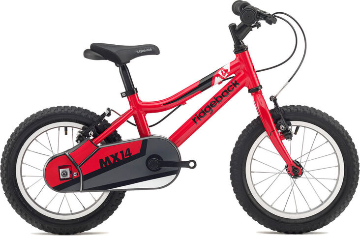 "RIDGEBACK MX14 red 14"" Wheel Red  click to zoom image"