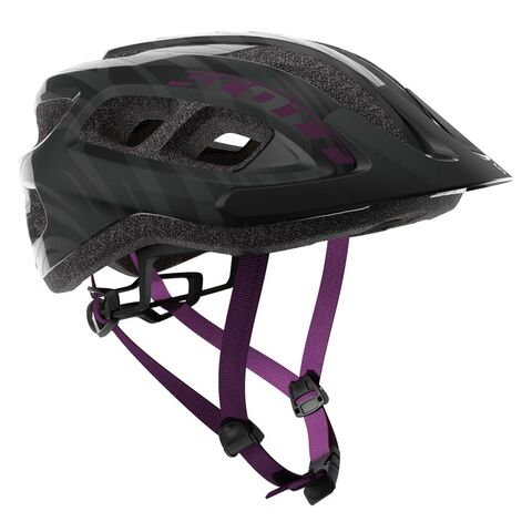 SCOTT Supra Helmet One-Size Black/Violet  click to zoom image