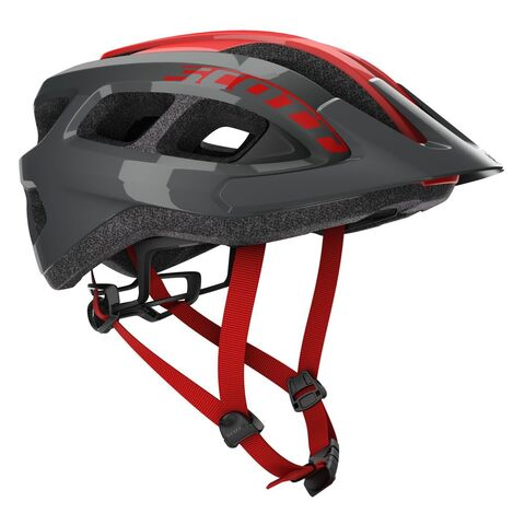 SCOTT Supra Mountain Bike Helmet One Size Grey/Red  click to zoom image