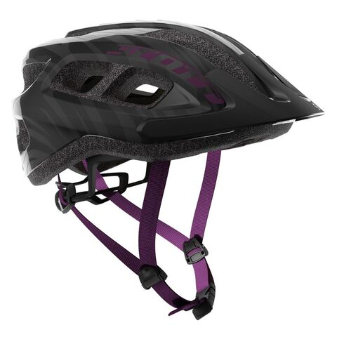 SCOTT Supra Mountain Bike Helmet One Size Black/Violet  click to zoom image