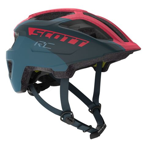 SCOTT Spunto Junior Plus Kids Helmet One Size Dark Blue/Pink RC  click to zoom image