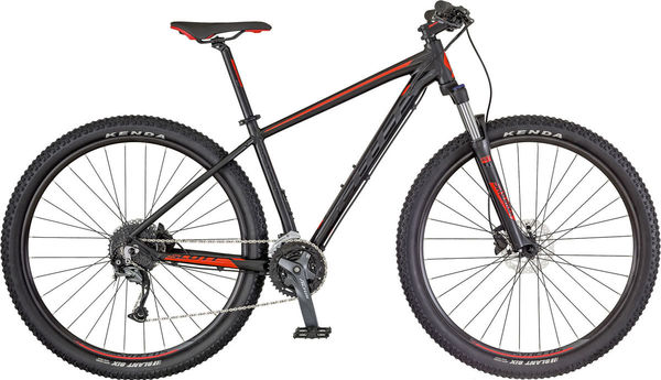 SCOTT Aspect 940 S Black / Red  click to zoom image