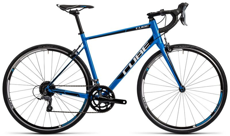 CUBE Attain Ex-Display Road Bike 56cm 2016