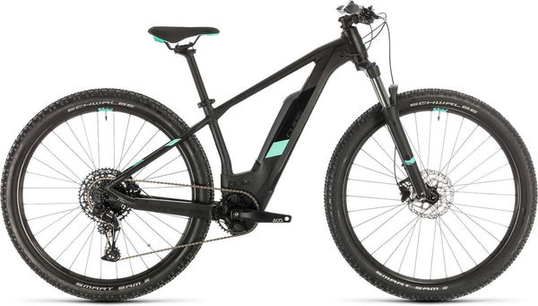 "CUBE Access Hybrid Pro 500 13"" black/mint  click to zoom image"