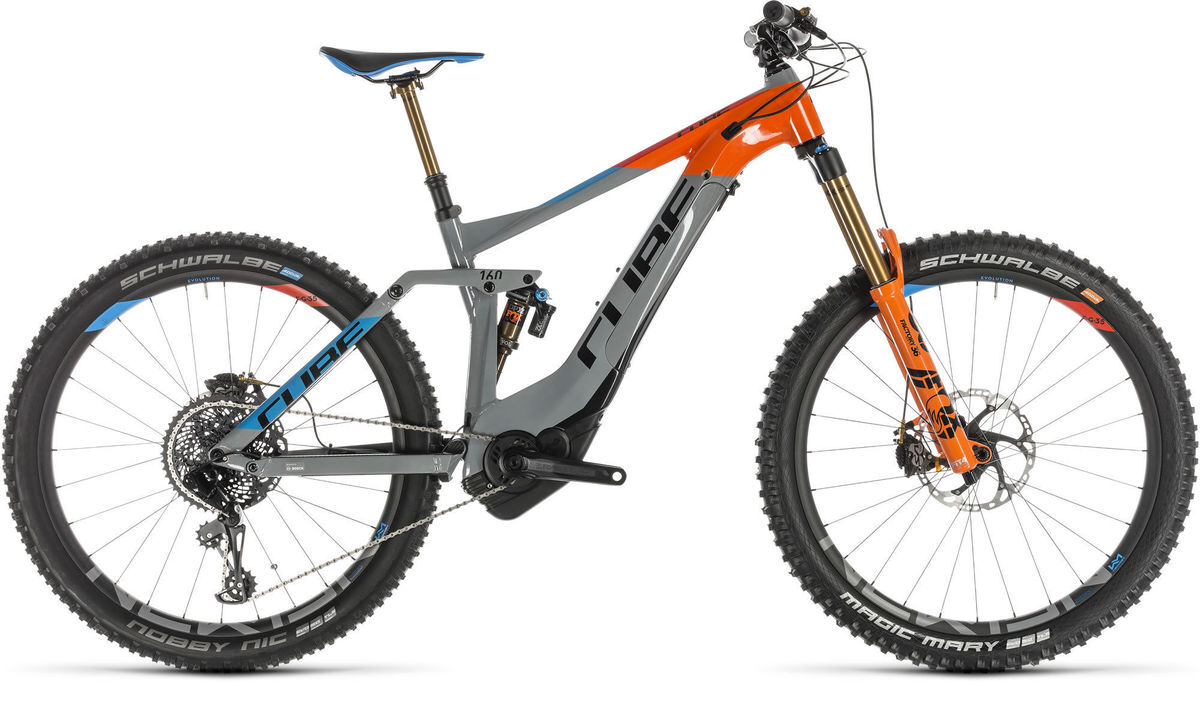 "CUBE Stereo Hybrid 160 Action Team 500 27.5 Ex-Display Electric Bike 22"" click to zoom image"
