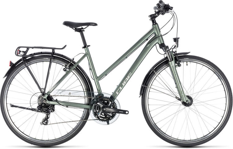 CUBE Touring Womens 46cm green/silver  click to zoom image