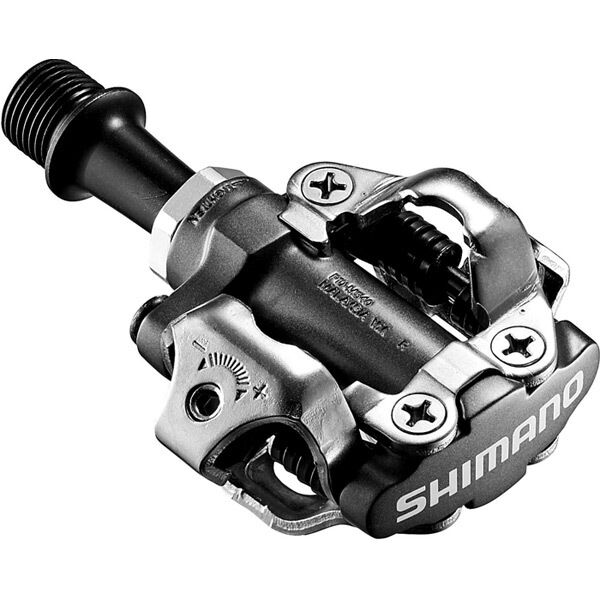 SHIMANO PD-M540 MTB SPD pedals - two sided mechanism, black click to zoom image