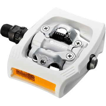 SHIMANO PD-T400 CLICK'R pedal, Pop-up mechanism, white