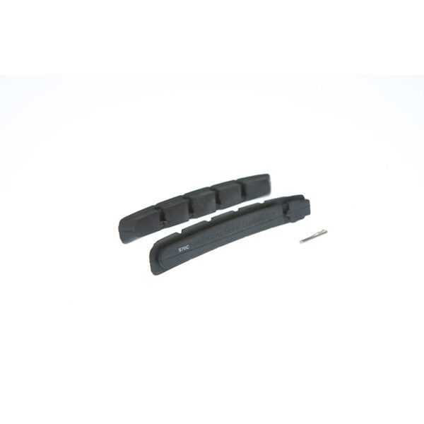 SHIMANO S70C cartridge brake shoe inserts with fixing pin, pair click to zoom image