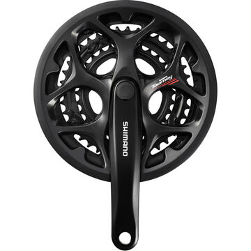 SHIMANO FC-A073 square taper triple chainset 7/8speed, 50/39/30T 165mm