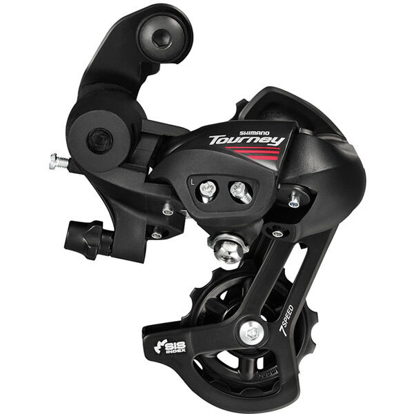 SHIMANO RD-A070 7speed road rear derailleur, with mounting bracket click to zoom image