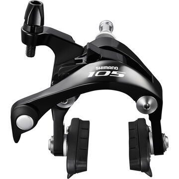 SHIMANO BR-5800 105 brake callipers, 49mm drop, black, rear