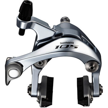 SHIMANO BR-5800 105 brake callipers, 49mm drop, silver, front