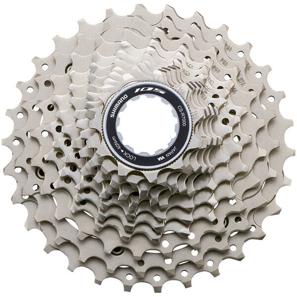 SHIMANO CS-R7000 105 11-speed cassette, 11 - 28T click to zoom image