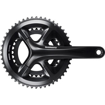 SHIMANO FC-RS510 double chainset, 50/34T, for 135/142 mm axle, 172.5 mm, black