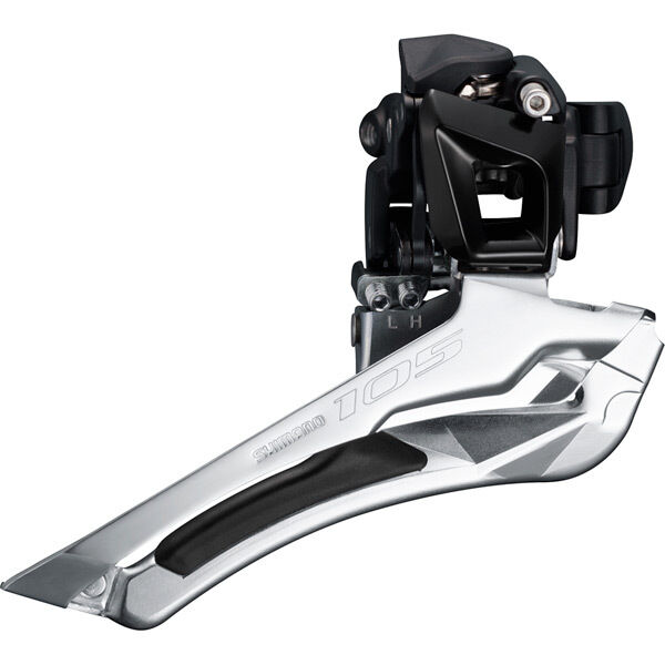 SHIMANO FD-5801 105 11-speed front derailleur, double 34.9 mm, black click to zoom image