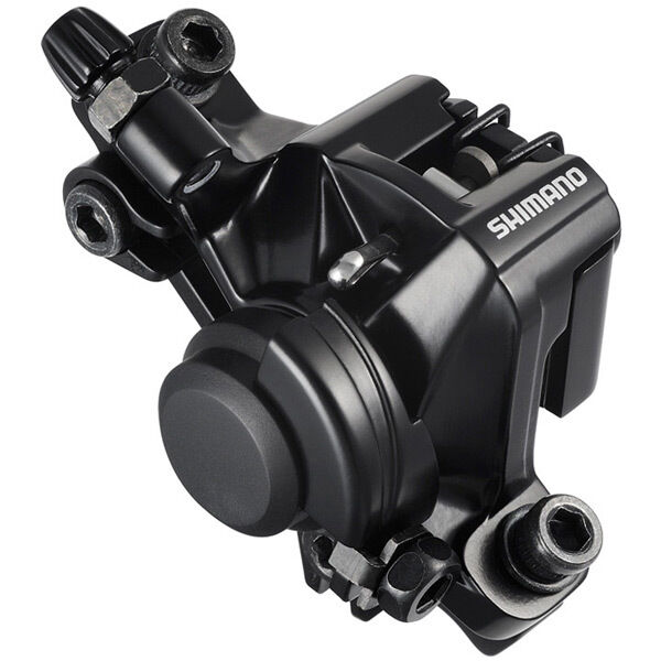 SHIMANO BR-M375 disc brake calliper, without adapter for front or rear, black click to zoom image