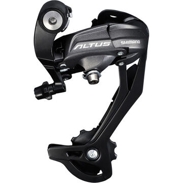 SHIMANO RD-M370 Altus rear derailleur, 9speed, SGS, black