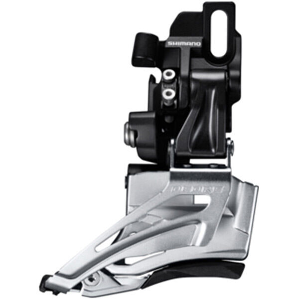 SHIMANO Deore M618-D double front derailleur, direct mount, down swing, top pull click to zoom image