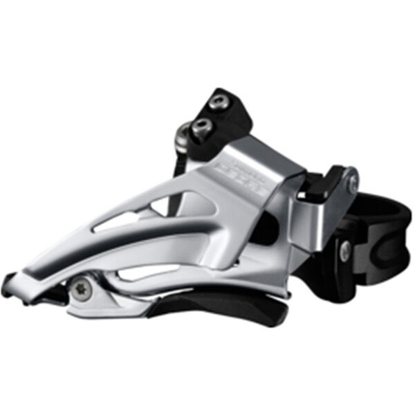 SHIMANO Deore M618-L double front derailleur, low clamp, top swing, down pull click to zoom image