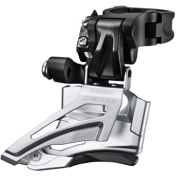 SHIMANO Deore M618-H double front derailleur, high clamp, down swing, dual pull