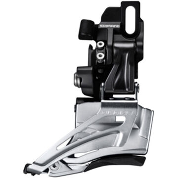 SHIMANO Deore M618-D double front derailleur, direct mount, down swing, dual pull