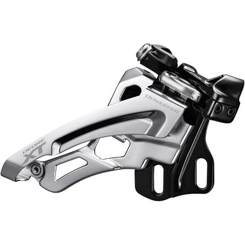 SHIMANO Deore XT M8000-D triple front derailleur, direct mount, side swing, front pull