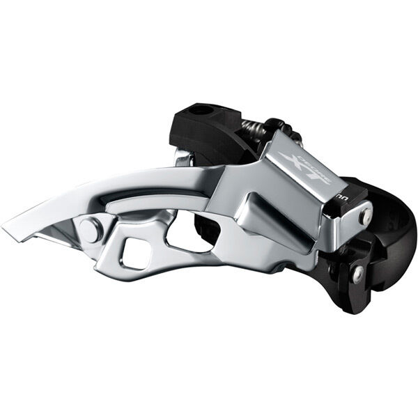 SHIMANO FD-T8000-H XT triple front derailleur, 10-speed, top swing, 63-66 deg click to zoom image