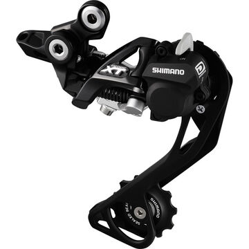 SHIMANO RD-M786 XT 10-speed Shadow+ design rear derailleur, SGS, black