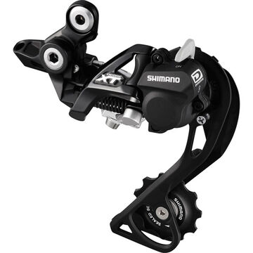SHIMANO RD-M786 XT 10-speed Shadow+ design rear derailleur, GS, black