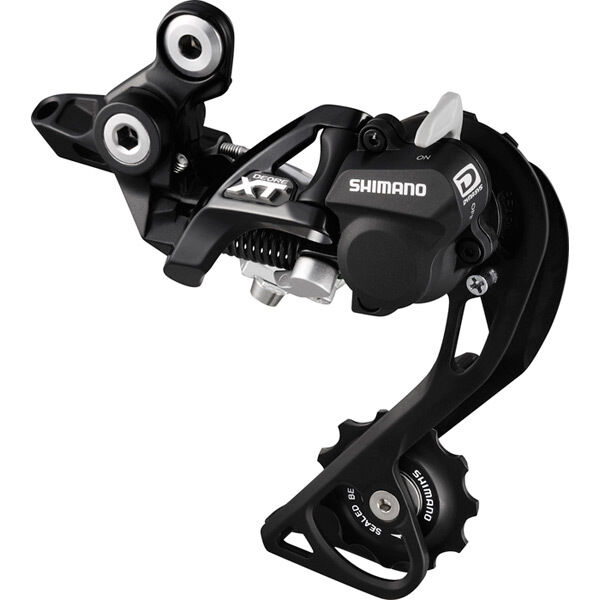 SHIMANO RD-M786 XT 10-speed Shadow+ design rear derailleur, GS, black click to zoom image