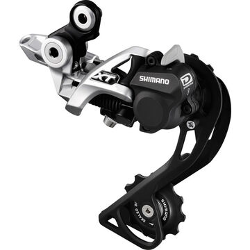 SHIMANO RD-M786 XT 10-speed Shadow+ design rear derailleur, GS, silver