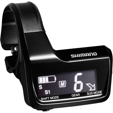SHIMANO SC-MT800 Di2 system information and display junction A, 3x E-tube ports