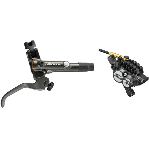 SHIMANO BR-M820 Saint bled I-spec-B compatible brake with post mount calliper, rear click to zoom image