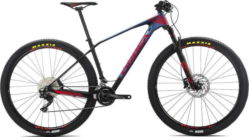 ORBEA Alma 27 M50-REBA S Blue/Red  click to zoom image