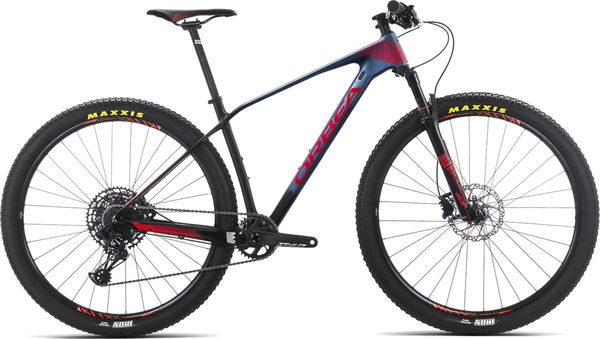 ORBEA Alma 29 M30 S Blue/Red  click to zoom image