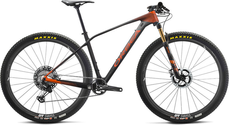 ORBEA Alma 29 M-Team S Black/Anthracite/Orange  click to zoom image