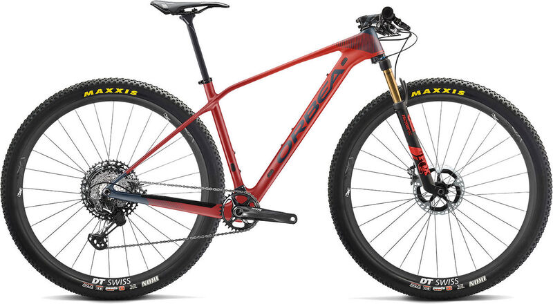 ORBEA Alma 29 M-Team S Red/Blue  click to zoom image