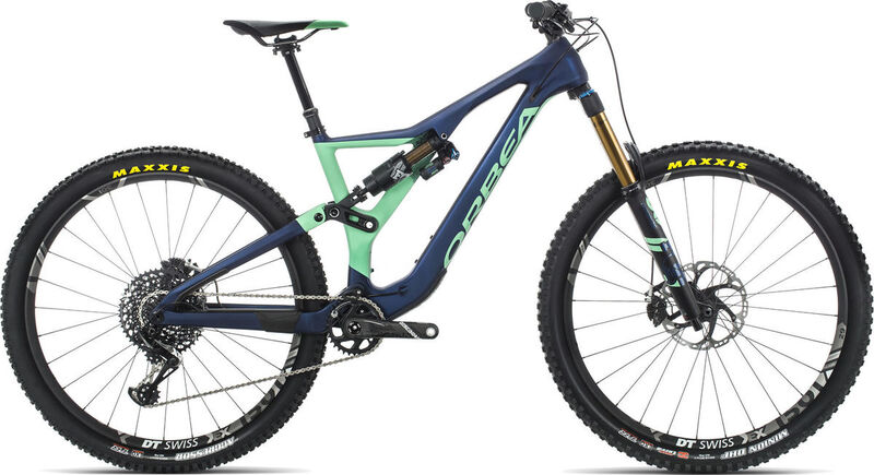 ORBEA Rallon M-Team S/M Blue/Mint  click to zoom image