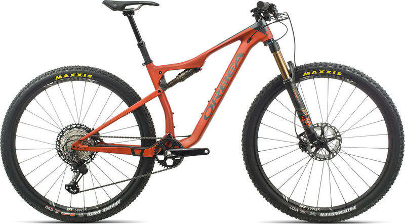 ORBEA Oiz 29 M10 TR S Orange/Black  click to zoom image
